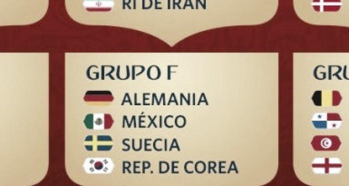 Grupo F: Alemania - México - Suecia - Corea del Sur