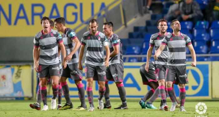 El Granada CF, tras conseguir el 2-2 final / Foto: LaLiga