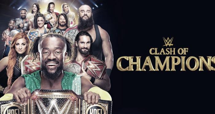 Portada de Clash Of Champions 2019 | Fuente: wwe.com