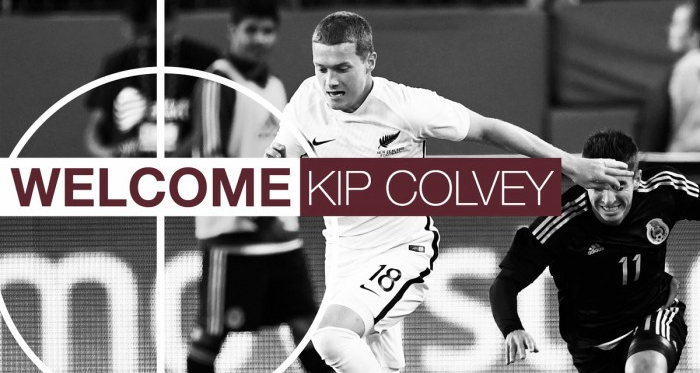 Kip Colvey firma con Colorado Rapids