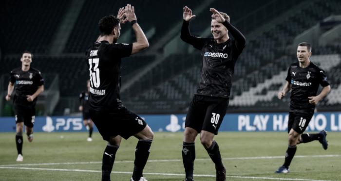 Borussia Mönchengladbach vuelve a ganar y continúa líder de grupo