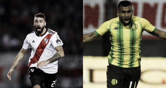 Pratto y Chávez, dos atacantes que intentarán romper las redes rivales (Fotomontaje: Adrián Gallardo)
