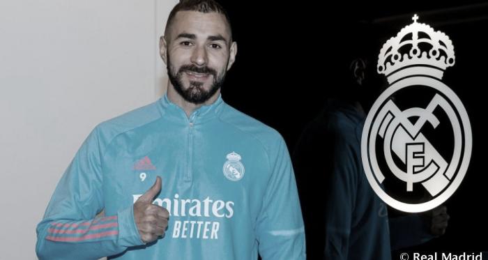 """Benzema: """"Estoy a nivel físico y mental muy bueno"""""""