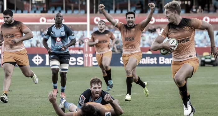 Domingo Miotti, rumbo a la gloria en Pretoria. ¿Volverá a celebrar en Durban? Crédito: Christiaan Kotze/AFP.