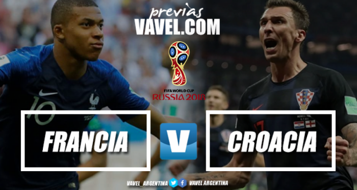Previa Francia - Croacia: la gloria está a un solo paso