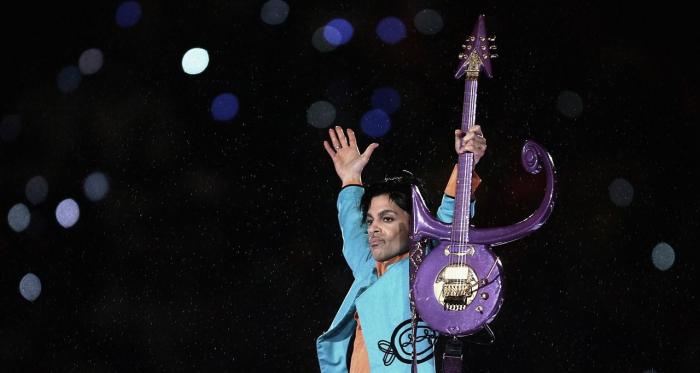 Prince en concierto. Fuente: Getty Images