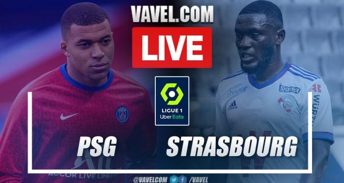 Buts et temps forts : Paris Saint-Germain vs Strasbourg (4-2) en Ligue 1