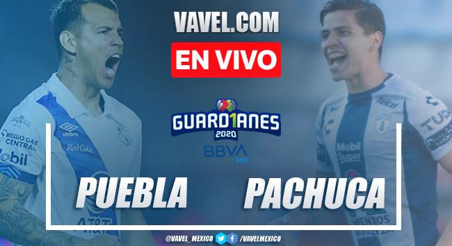Puebla vs Pachuca en vivo cómo ver transmisión TV online en Liga MX 2020 (0-0)