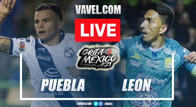 Goals and Highlights: Puebla 0-1 León in Liga MX