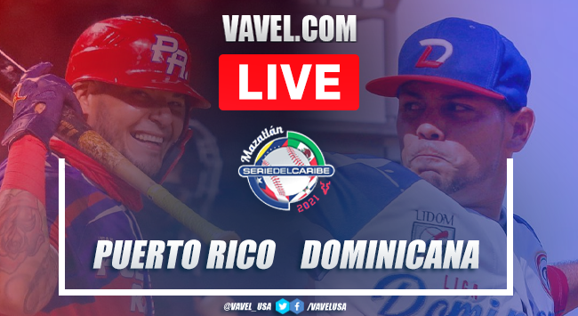 Highlights and scores: Puerto Rico 1 - 4 Dominican Republic 2021 Serie del Caribe Final