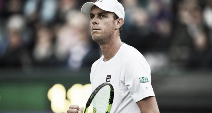 Wimbledon: Sam Querrey shocks world number one Novak Djokovic in four sets