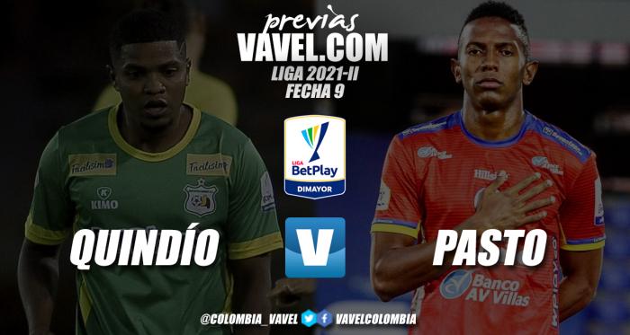 Previa Deportes Quindío vs Deportivo Pasto: duelo de equipos motivados