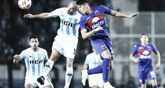 Tigre y Racing ya jugaron tres veces este año: la Acadé salió campeón en el Coliseo; y el Matador lo eliminó de la Copa Superliga (Foto: Clarín).