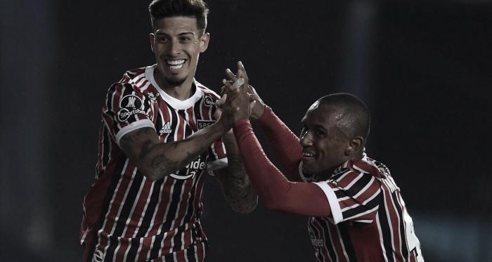Marquinhos e Rigoni brilham, São Paulo bate Racing e vai às quartas da Libertadores