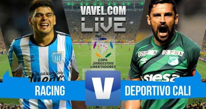 Resultado Racing x Deportivo Cali na Copa Libertadores 2016 (4-2)