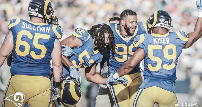 Los Angeles Rams, único invicto de la temporada (foto Los Angeles Rams)