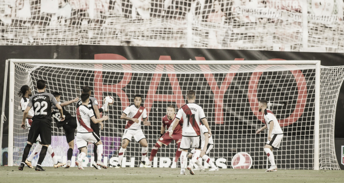 Rayo Vallecano-Sevilla disputado en la primera jornada de Liga | Fotografía: Rayo Vallecano