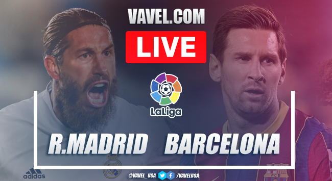 Real Madrid vs Barcelona Live Stream Updates, Score Online and How to Watch El Clasico LaLiga (0-0)