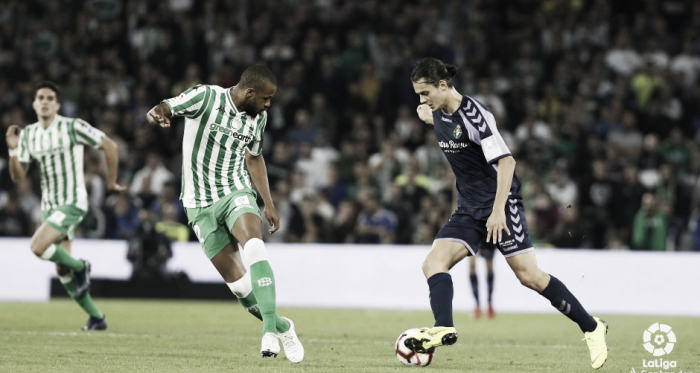 Encuentro de la primera vuelta entre Real Valladolid y Real Betis | Foto: LaLiga Santander