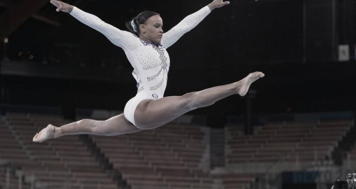 Rebeca Andrade consegue a prata nas finais da Ginástica Artística pelas Olimpíadas de Tóquio