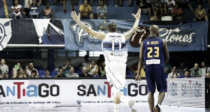 Ramírez Barrios tuvo una sensacinal actuación en el primer juego. Foto: FIBA Américas