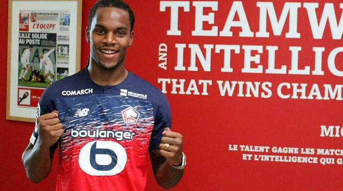 Renato Sanches no Lille