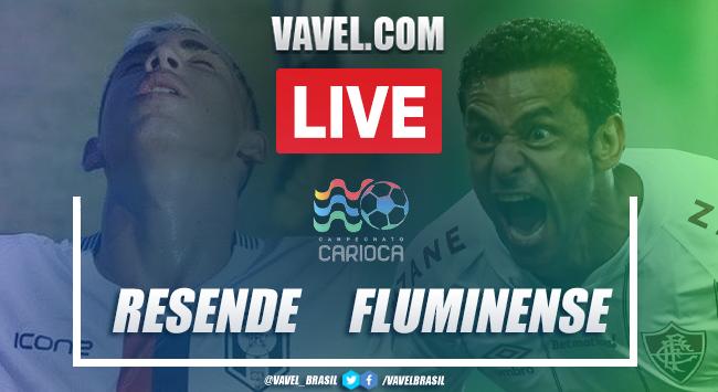 Resende x Fluminense AO VIVO: onde assistir jogo em tempo real pelo Campeonato Carioca