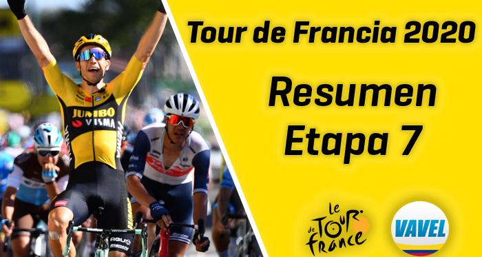 Tour de Francia 2020, etapa 7: Wout 'Van Sprint' por duplicado