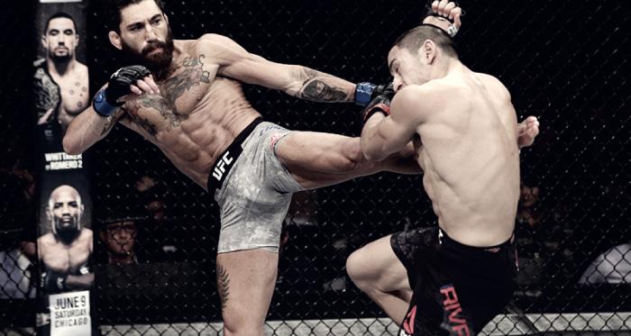 """Canetti """"conolizó"""" a puro puño en Chile. Foto: Pagina Oficial UFC"""