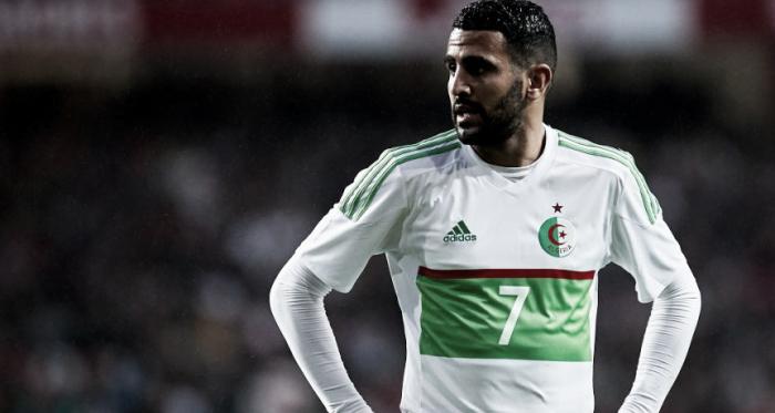 Riyad Mahrez fue la figura de la jornada | Foto: Argelia