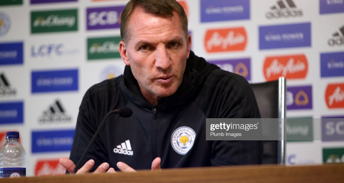 Brendan Rodgers believes European football could come 'too early' for Leicester City   Photo: Getty/ Plumb Images