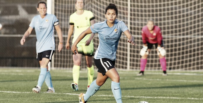 Raquel Rodriguez becomes the first sky blue player to win such an award. (Sky Blue FC)