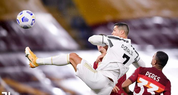 Serie A - Ronaldo riprende due volte la Roma: Juve bloccata sul 2-2