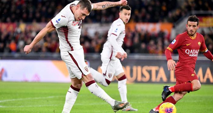 Serie A - Colpaccio Torino: Belotti alza due volte la cresta e Roma ko 0-2