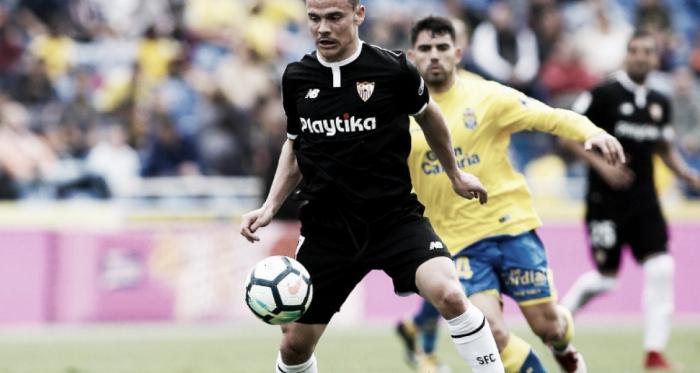 Roque Mesa durante un partido con el Sevilla la pasada campaña | Foto: VAVEL.com