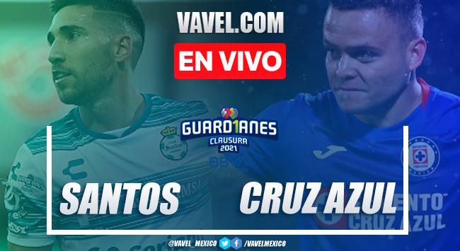 Gol y resumen del Santos 1-0 Cruz Azul en Liga MX Guard1anes 2021