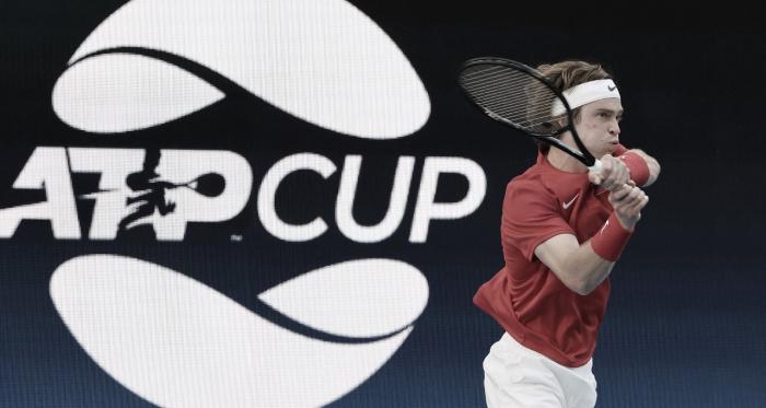 Rússia derrota Japão e se classifica à semifinal da ATP Cup