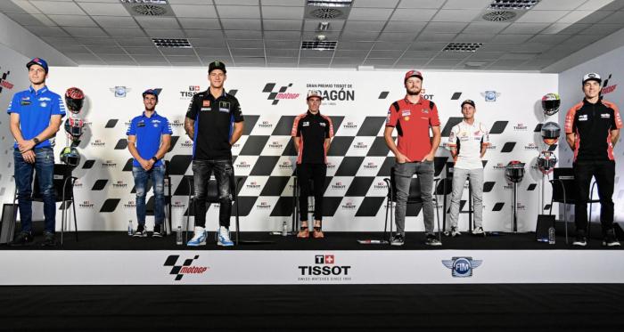 Rueda de prensa del Gran Premio de Aragón 2021