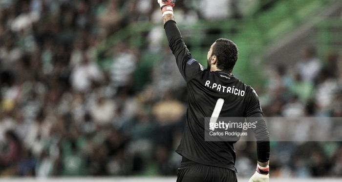 Rui Patrício prolongou o seu contrato com o Sporting até 2022