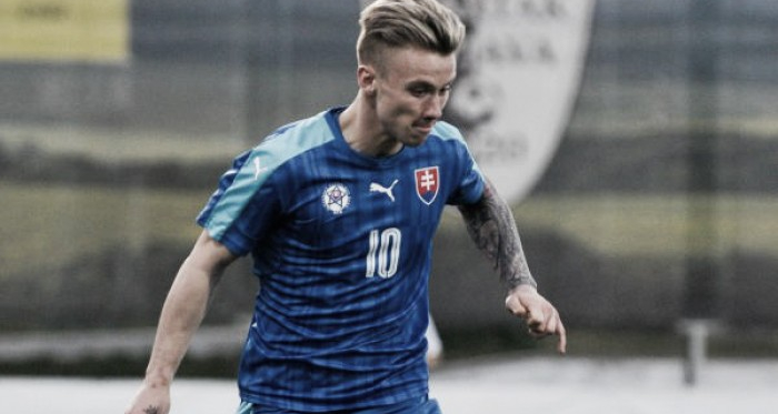 Slovakian international Albert Rusnak is on the verge of completing a transfer to Real Salt Lake. | Photo: SITA / Martin Mednansky