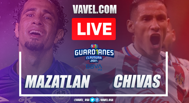 Mazatlan FC vs Chivas: LIVE Stream Online and Results (1-1)