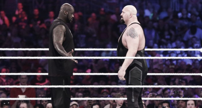 The two giants are set to compete one-on-one on The Grandest Stage of Them All (image: wwe.com)
