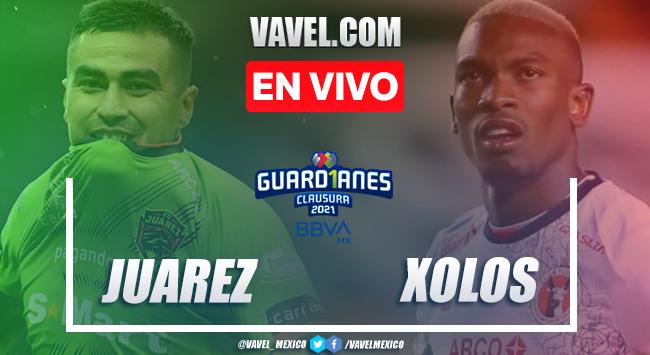 Resumen del FC Juárez 0-0 Xolos en Liga MX Guard1anes 2021