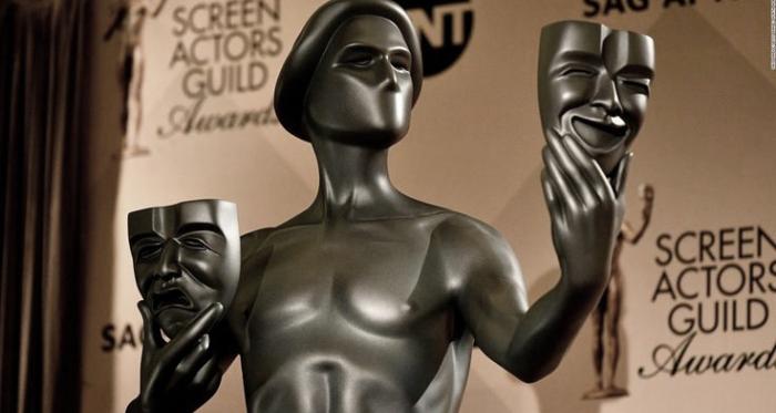 Estatuilla que otorga el Sindicato de Actores a los ganadores/ Fotografía de SAG Awards.