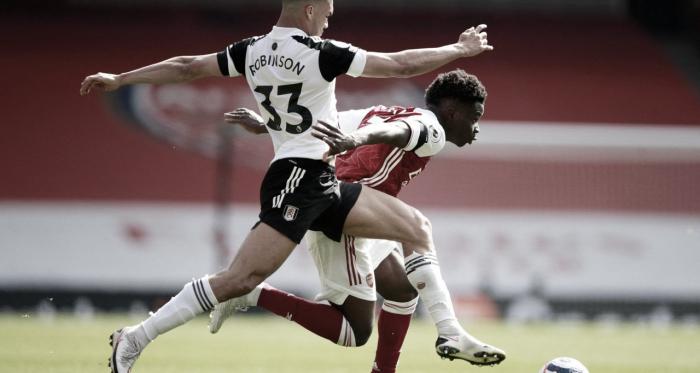 Com gol nos acréscimos, Arsenal arranca empate do Fulham na Premier League
