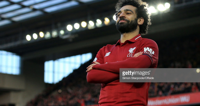 Mohamed Salah scored yet again against Bournemouth but can he find the back of the net against Bayern and United? (Getty Images)