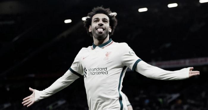 Con un intratable Salah, el Liverpool humilló al Manchester United