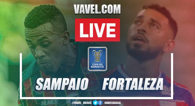 Sampaio Corrêa x Fortaleza AO VIVO (0-0)