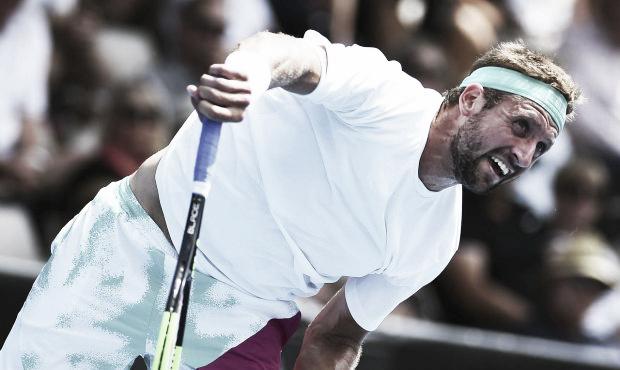Sandgren demostró ante Kohlschreiber ser muy eficiente con su saque. / Foto: www.atpworldtour.com