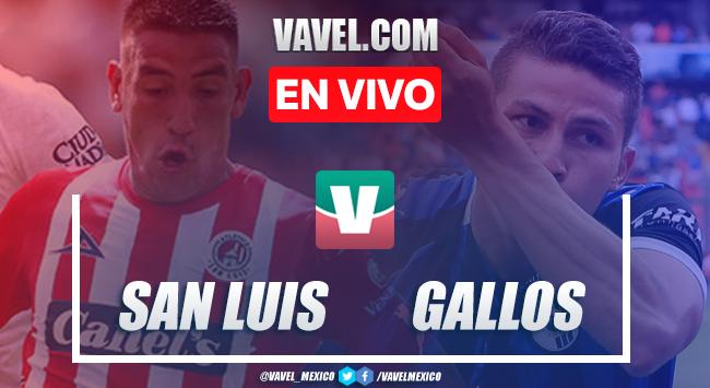 Resumen bronca y goles: Atlético San Luis 0-2 Querétaro en Liga MX 2019